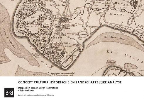 Landschappelijke en cultuurhistorische analyse