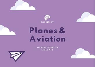 Final Planes & Aviation Holiday Program