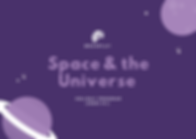 Space & the UniverseHoliday Program (Bla