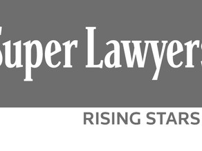 Rising Star award from Super Lawyers