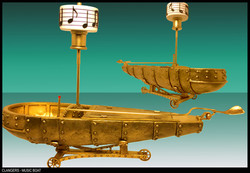 GOLDEN MUSIC BOAT - CLANGERS CBBC