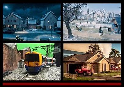 Epic Sindy Money Supermarket, Penny, model making, trains, snow, jeeps