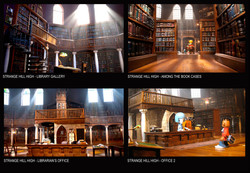 INSIDE THE LIBRARY SET 2