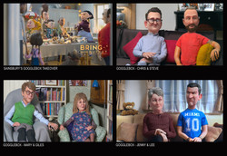 GOGGLEBOX SAINSBURY'S CHRISTMAS AD