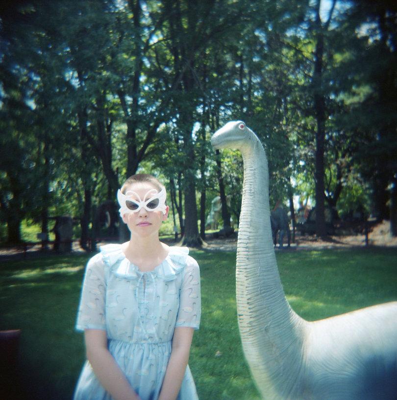 Micah and Brontosaurus by Sallie Keena