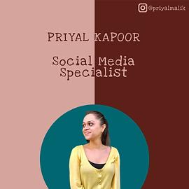 Priyal Kapoor
