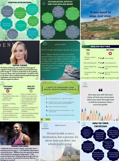 InContact Counselling Instagram Grid