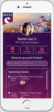 Chizzle App Screenshot
