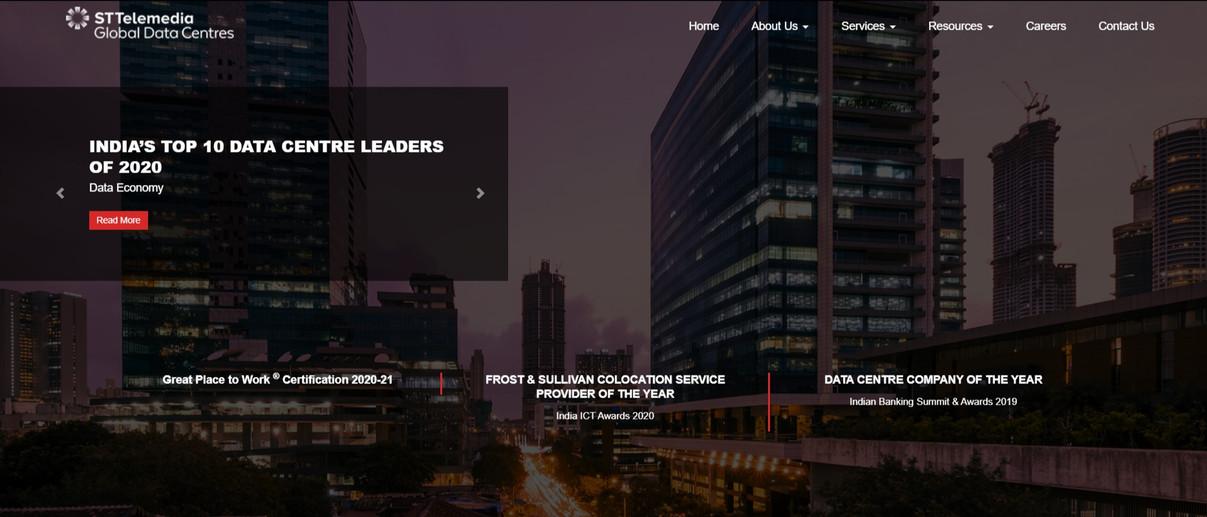 ST Telemedia Global Data Centre India