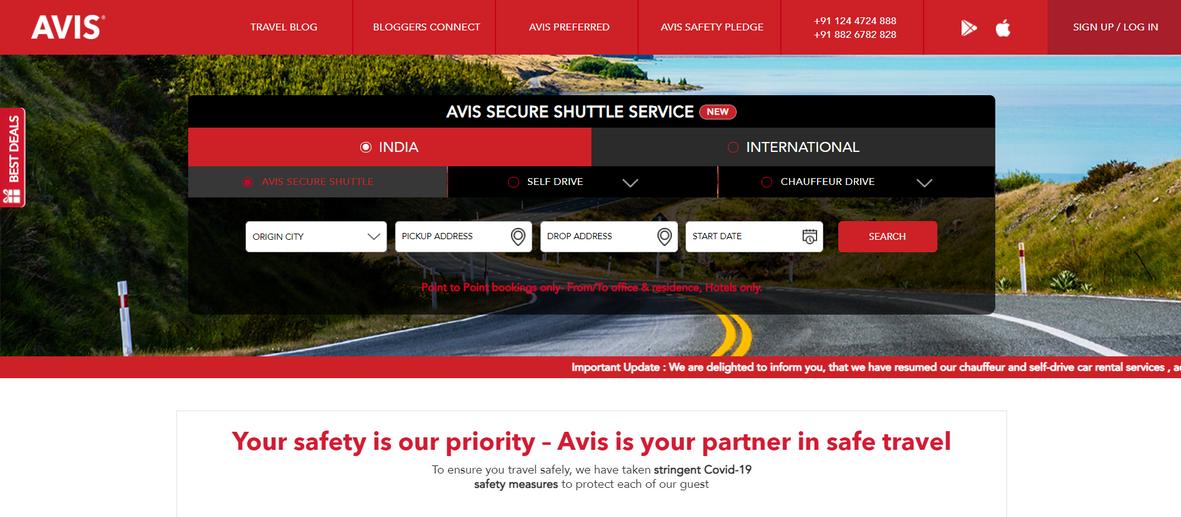 Avis Website