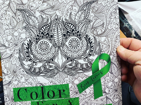 Coloring books and swag