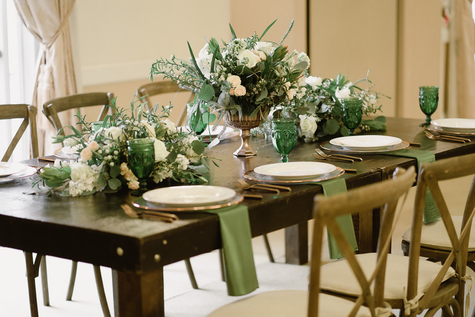 Elegant table decor for your perfect day.