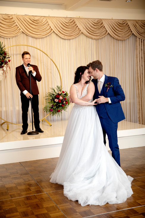 You will always remember your first dance as a married couple.