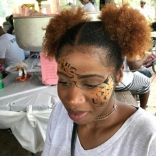 We enjoyed the face painting