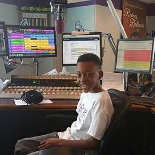 Youth advocate Malcolm of A.S.A.P was in the Hot 105 studio this morning promoting our _Be Informed_