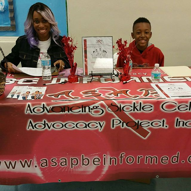 At the _No More Broken Hearts_ Domestic Violence Workshop representing Team ASAP