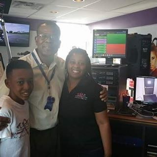 Team A.S.A.P with Rodney Baltimore at the Hot 105 studio this morning promoting our _Be Informed_ Pi