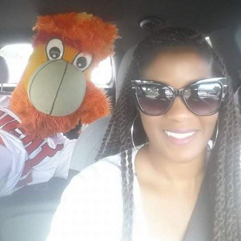 When you chauffeur the Miami Heat mascot Burnie to Team A.S.A