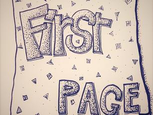 10 dicas para preencher a primeira página do caderno