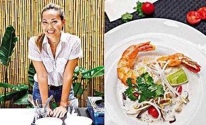 Dominique Thuy Trinh Vo en la Revista Mujer