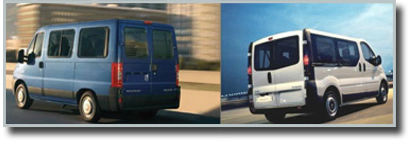 Minibuses de alquiler