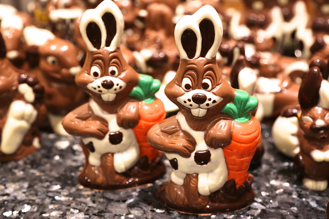 Chocolate Rabbit Tanunda Bakery. carrot.