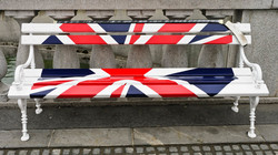Union Jack Bench