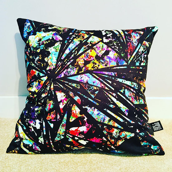 Shard Cushion Cover + British Wool Cushion Insert