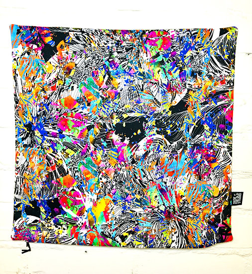 Floral Confetti Cushion Cover