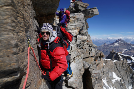 GranParadiso: An approachable 4000er but what does it mean to have a guide?