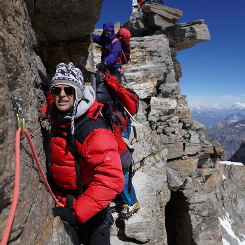 Gran Paradiso: An approachable 4000er but what does it mean to have a guide?