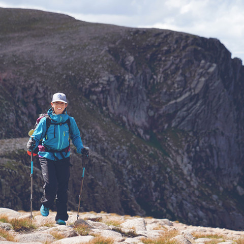Project 282: Emily's solo, unsupported and self-propelled Munro round