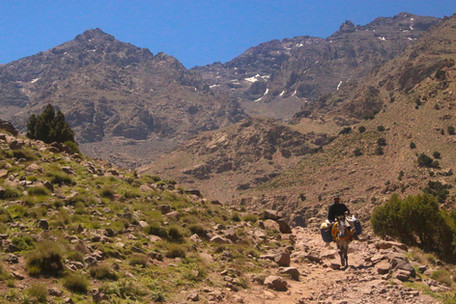 Breaking the 4000m mark in High Atlas