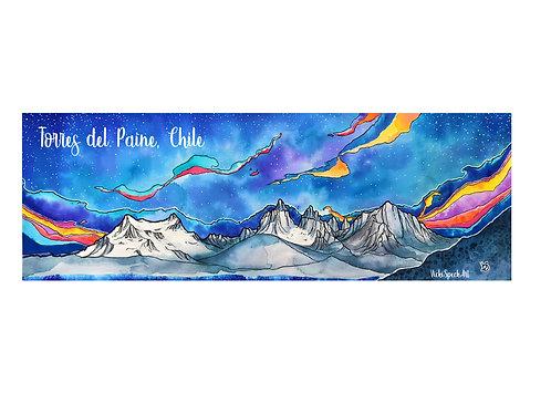 Wild Patagonia Bumper Sticker