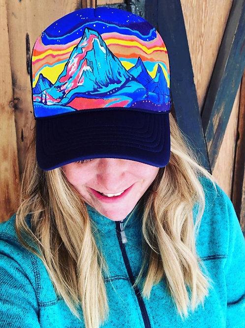 Mountain Expression Trucker Hat