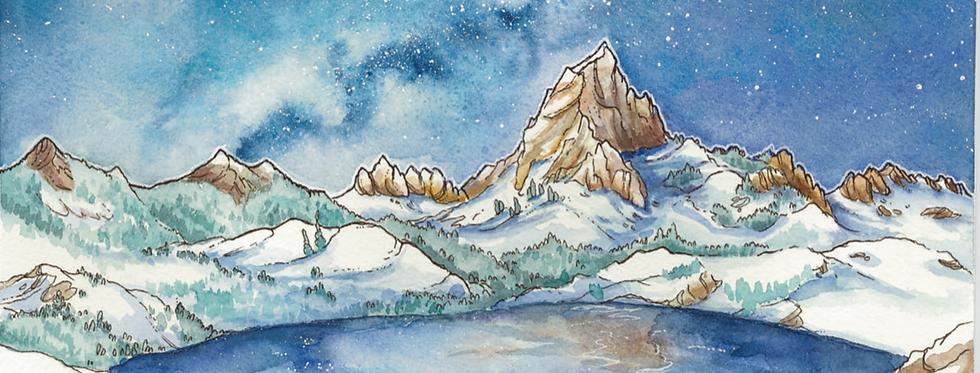 Lake Blanche Starry Night