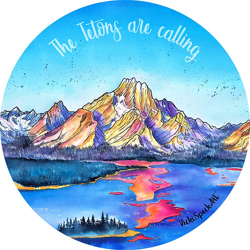 The Tetons are Calling