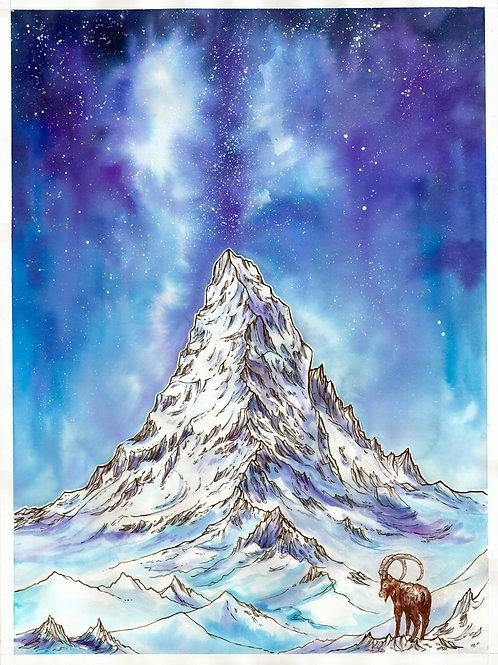 """""""Matterhorn at Night"""""""