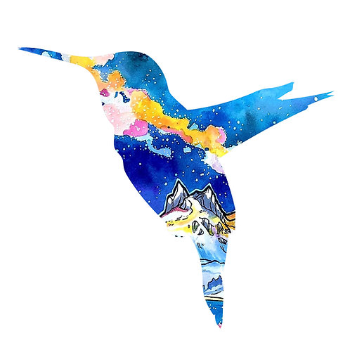 Happy Hummingbird