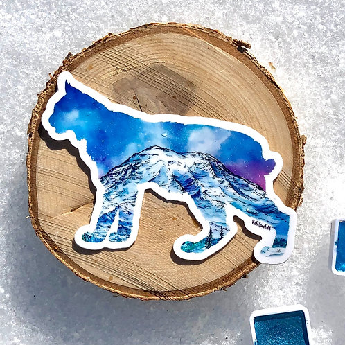 Bobcat Rainier Sticker