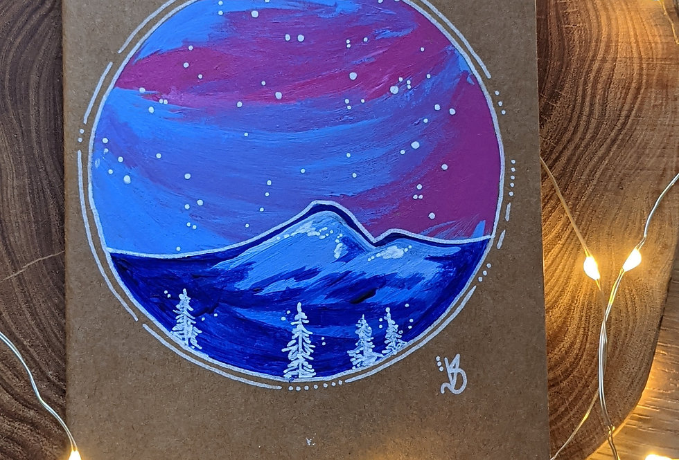 Winter Peak travel journal