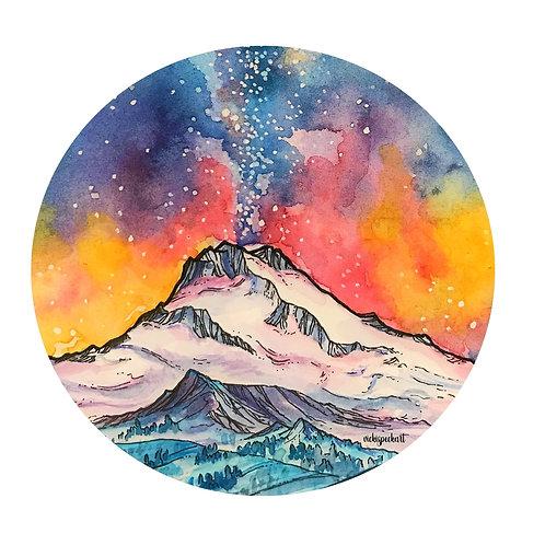 Colorful Dawn Sticker