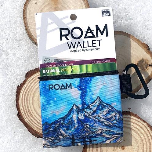 Winter Mountain ROAM wallet