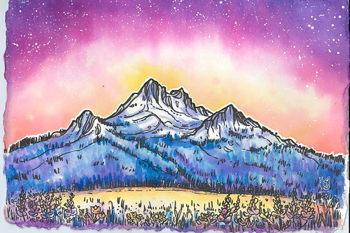 Tricolor Mountain