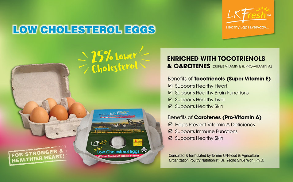 LOW CHOLESTERL EGGS
