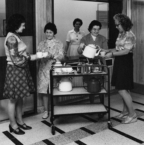 Tea Ladies Tuition House 1970's