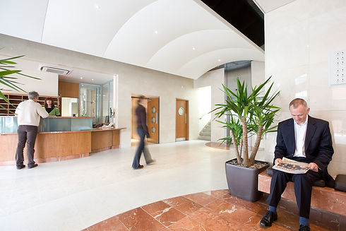 Tuition House Main Reception