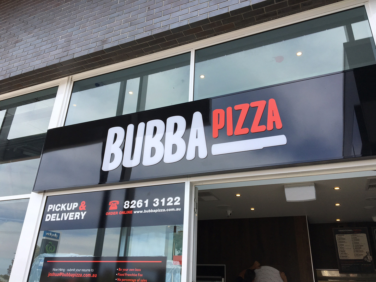 Bubba Pizza - Gilles Plains - Completed
