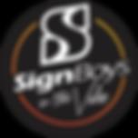 SignBoys - Circular Decals blACK 10-18.p