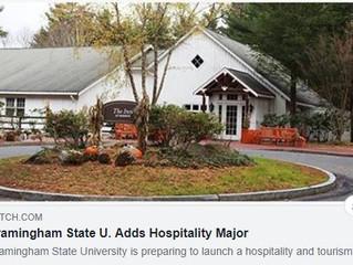 Framingham State U. Adds Hospitality Major